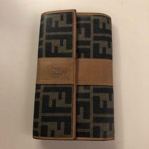 Vintage Women's Fendi Bi-Fold Wallet